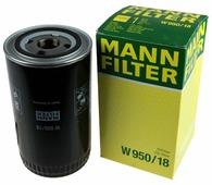 Масляный фильтр MANNFILTER W950/18