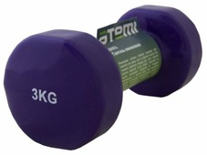 Гантель цельнолитая ATEMI AD053 3 кг