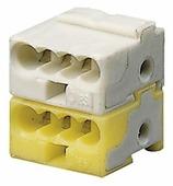 KLEMME Клеммник белый/желтый ABB, GHQ6301902R0001