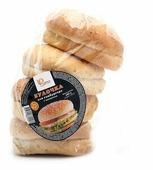 Ржевка Хлеб Булочка для гамбургера с кунжутом пшеничная 240 г