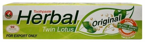 Зубная паста Twin Lotus Herbal Оригинальная
