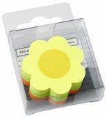 Global Notes блок с липким слоем Цветок 3 цвета 50х50 мм, 225 листов (584239)