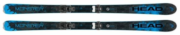Горные лыжи HEAD Monster 83 Ti с креплениями Attack² 13 GW (17/18)