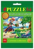 Пазл Hatber Cartoons Collection Любимые сказки Выпуск 3 (54ПЗ5) в ассортименте, 54 дет.