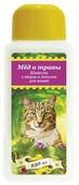 Шампунь Пчелодар с мёдом и лопухом для кошек 250мл