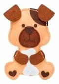 Feltrica Набор для изготовления мягкая игрушка Пес Чуня (4627151963945)