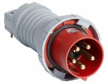 4125 P6W Вилка кабельная 125A, 3P+N+E, IP67 ABB, 2CMA166828R1000