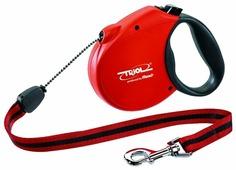 Поводок-рулетка для собак Triol Standard Soft M тросовый