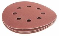 Шлифовальный круг на липучке Hammer 214-010 125 мм 5 шт