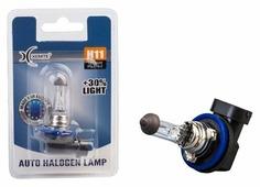 Лампа автомобильная галогенная Xenite 12Vx55W+30% H11 1 шт.