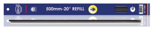 """Лента стеклоочистителя ALCA Refill Multi Edge 20"""" 500 мм, 2 шт."""