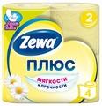 Туалетная бумага Zewa Плюс Ромашка двухслойная