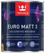 Краска Tikkurila Euro Matt 3