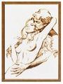 Золотое Руно Набор для вышивания Дуэт 44 х 34 см (ГТ-039)