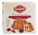 """Кекс Яшкино Итальянский"""" с вишневым джемом и шоколадным кремом 500 г"""