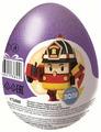 Шоколадное яйцо Шоки-Токи Робокар Поли с игрушкой, молочный шоколад, 20 г