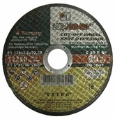 Диск отрезной 125x2.5x22.23 LUGAABRASIV C 30 R BF 80 2