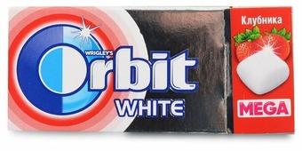 Жевательная резинка Orbit Mega Клубника 16.4 г