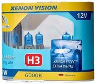 Лампа автомобильная галогенная ClearLight XenonVision MLH3XV H3 55W 2 шт.