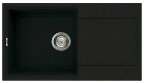 Врезная кухонная мойка elleci Easy 290 78х43.5см искусственный гранит