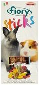 Лакомство для кроликов, грызунов Fiory Sticks с фруктами