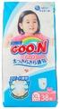 Goo.N трусики для девочек XL (12-20 кг) 38 шт.