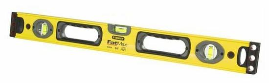 Уровень брусковый 3 глаз. STANLEY FATMAX 1-43-524 60 см