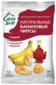 Чипсы GreenShire Банановые с кленовым сиропом