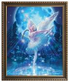 Алмазная живопись Набор алмазной вышивки Лебединое озеро (АЖ-3019) 40х50 см