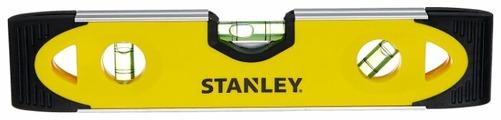Уровень торпедо 3 глаз. STANLEY 0-43-511 23 см