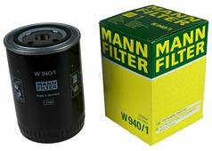 Масляный фильтр MANNFILTER W940/1