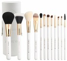 Набор кистей Zoreya Cosmetics Travel Makeup Brush Set ZS12, 12 шт.