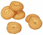 Печенье Яшкино Ванильное кольцо, 3.5 кг