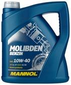 Моторное масло Mannol Molibden Benzin 10W-40 4 л