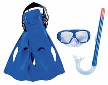 Набор для плавания с ластами Bestway Essential Freestyle размер 37-41