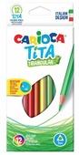 Carioca набор цветных карандашей Tita 12 цветов (42786)