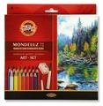 KOH-I-NOOR Акварельные карандаши Mondeluz, 72 цвета (3714072001KZ)