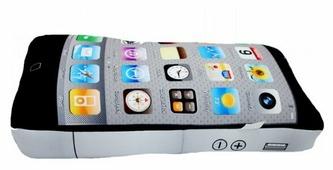 Подушка декоративная Мнушки Телефон 39х20х5 см (Ап08тел01)