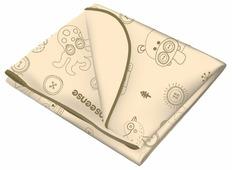 Многоразовая клеенка Inseense с ПВХ-покрытием c тесьмой, 70 х 100 см