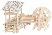 Сборная модель Чудо-Дерево Старинная водяная мельница (PH005)