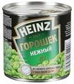 Горошек зеленый Heinz нежный, жестяная банка 390 г