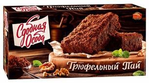 Пирог Сдобная особа Трюфельный пай