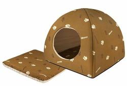 Домик для кошек, для собак Дарэлл Юрта (9631) дизайн Дарэлл 36х36х35 см