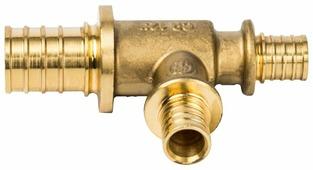 Фитинг аксиальное тройник STOUT SFA-0014-251616 25x16x16