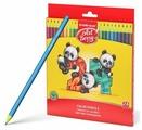 ErichKrause Пластиковые цветные карандаши шестигранные ArtBerry 24 цвета (47347)