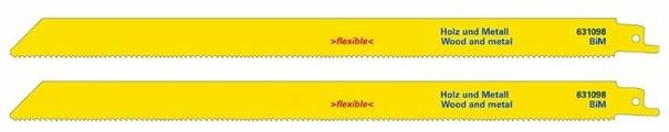 Пильное полотно для сабельной пилы Metabo 631098000 2 шт.