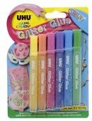 UHU Клеящие блестки для декорирования Young Creativ Glitter Glue Shiny (6 шт.)