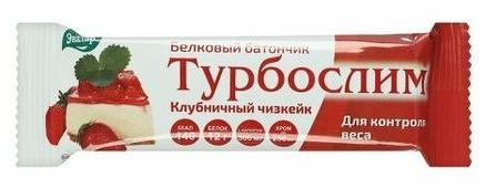 Протеиновый батончик Эвалар Клубничный чизкейк 60 г