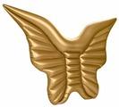 Матрас MimiForme Крылья бабочки 121x180 см