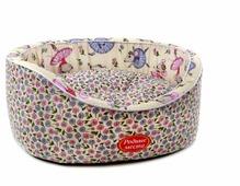 Лежак для кошек, для собак Родные места Премиум №1 Мышкины цветы 43х38х15 см